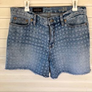 j. Crew - Indigo Denim Shorts